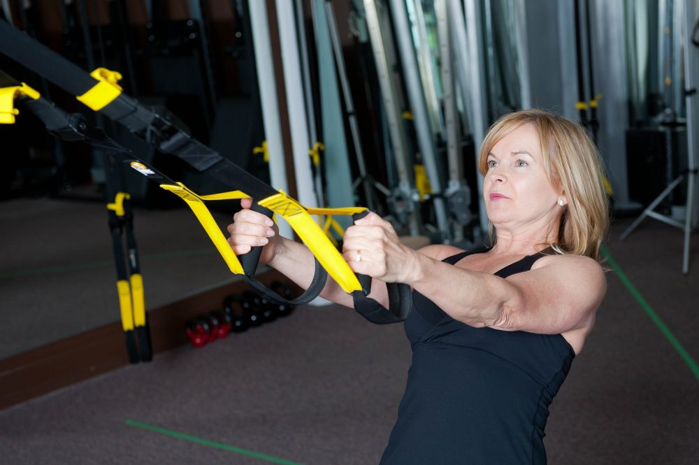 trx excercise at body innovations guelph